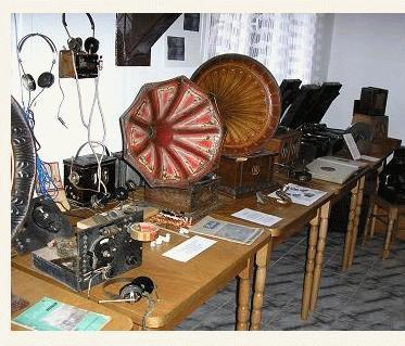 a csernátoni tájmúzeum rádiós sarka
