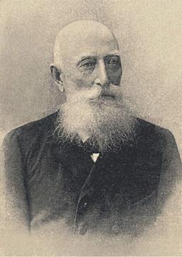 Teleki Sándor öregkori képe