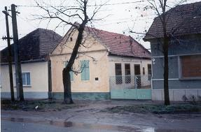 A tulajdonképpeni szülőház, a Kersch-ház