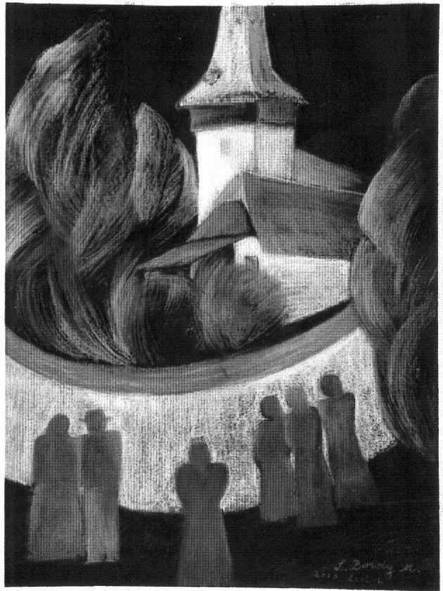 Lészay Bordy Margit: Triptichon I. (2003)