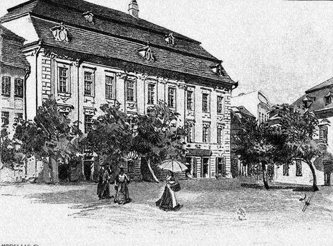A Brukenthal palota Nagyszebenben
