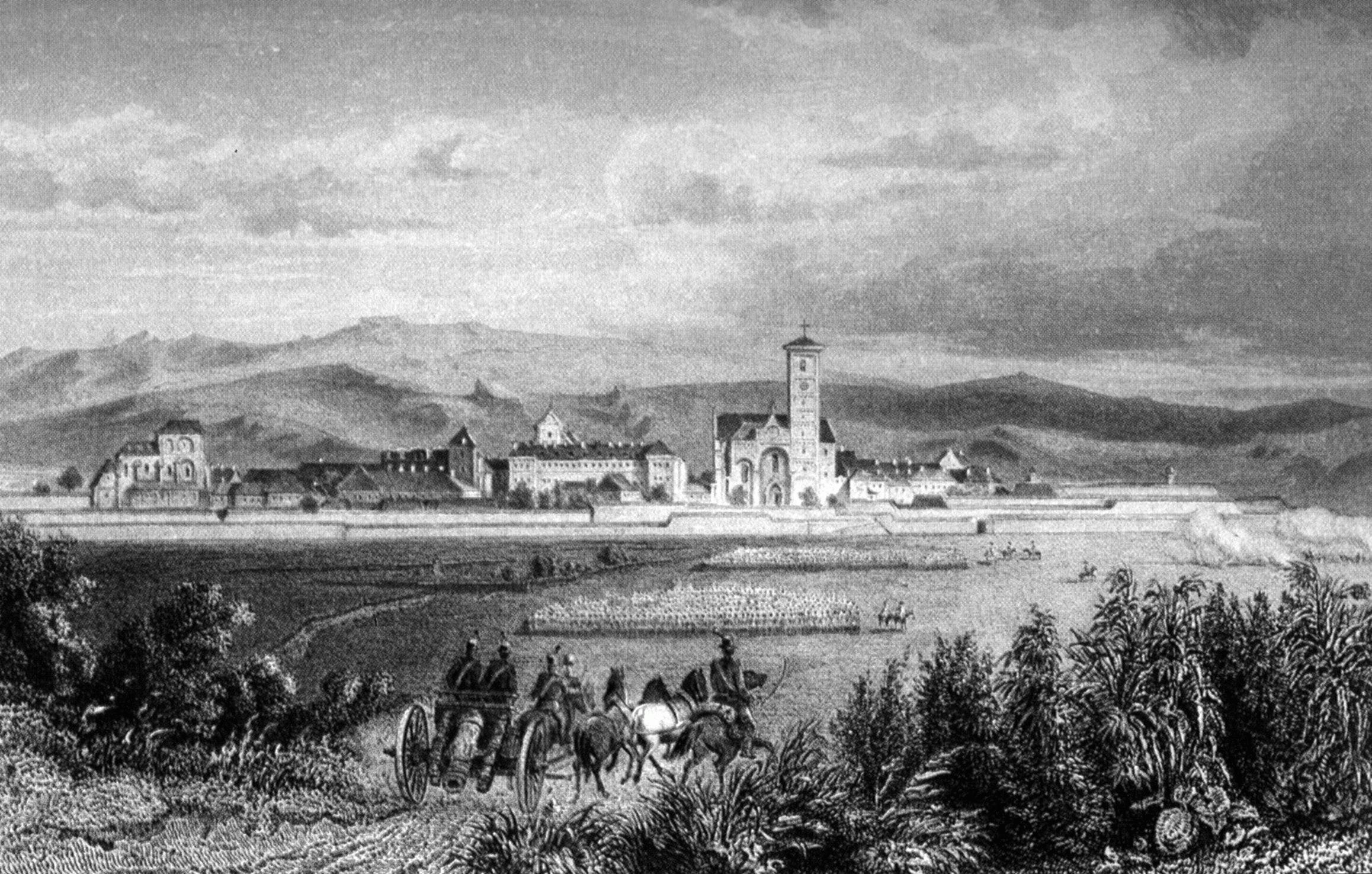 Gyulafehérvár a XIX. század elején