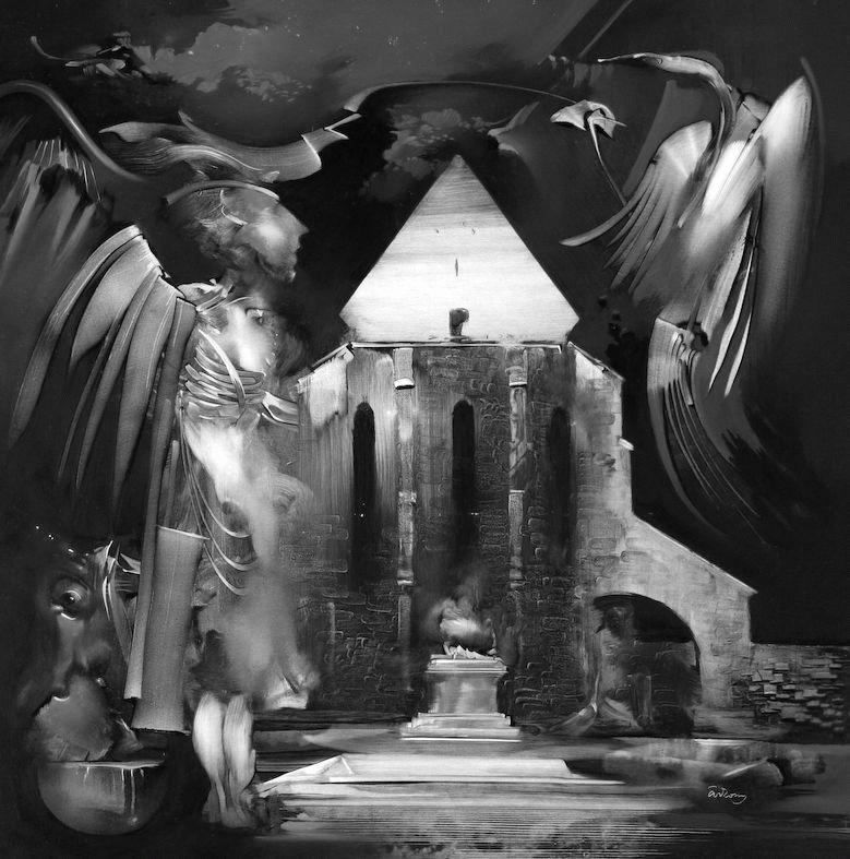 Árkossy István: Templom-piramis