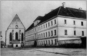 A kolozsvári Farkas utcai református templom és kollégium és Verestói Sámuel két munkájának címlapja.