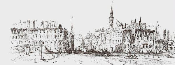 Moritz Smetz: Az 1848. október 25-i jägerzeilei ostrom.