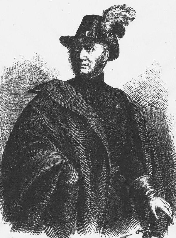 Moritz Smetz 1848-ban