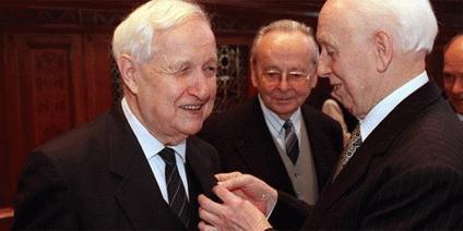 Püski Sándor és Mádl Ferenc köztársasági elnök